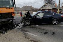 Accident între un TIR și un autoturism pe DN15, la Săvinești