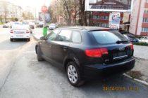 Amenzi pentru expunerea autoturismelor la vânzare în locuri nepermise