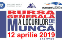 Vineri, 12 aprilie, se va desfășura Bursa generală a locurilor de muncă