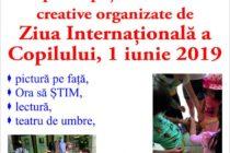 Activități de Ziua Copilului la Biblioteca Județeană