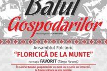 Balul Gospodarilor, la Răucești, de ziua națională a portului tradițional