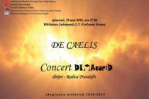 """Concert coral """"De Caelis"""" la Piatra Neamț"""
