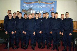 Elevi in practica jandarmeria Neamt