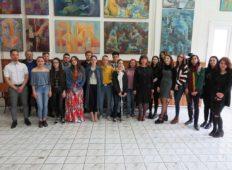 """Expoziția absolvenților Liceului de Arte """"Victor Brauner"""""""