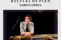 """Recital pianistic la Liceul de Artă """"Victor Brauner"""""""