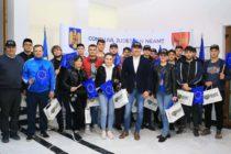 Consiliul Județean Neamț a primit vizita unui grup de elevi din Orhei