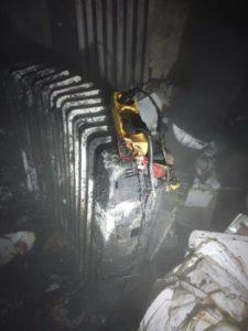 incendiu apartament prelungitor electric