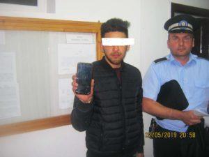 telefon recuperat de politia locala