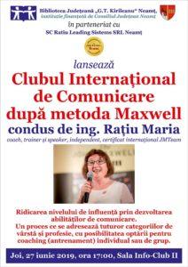 lansare Club de comunicare