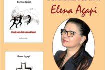 Dublă lansare de carte Elena Agapi, la Biblioteca Județeană
