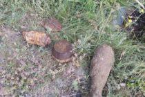 Misiuni de asanare muniție neexplodată ale pompierilor nemțeni