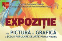 Expoziția premianților de la clasele de pictură și grafică