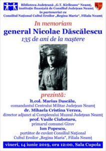 In memoriam Nicolae Dascalescu