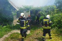 Incendiu la o locuință din satul Bistrița, com. Alexandru cel Bun