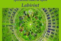 """Labirint – un spectacol al claselor de operă la Liceul de Artă """"Victor Brauner"""""""