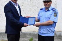 Predare de ștafetă la jandarmeria Neamț