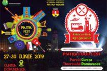 Piatra Fest 2019 – manifestări dedicate Zilelor Orașului Piatra Neamț
