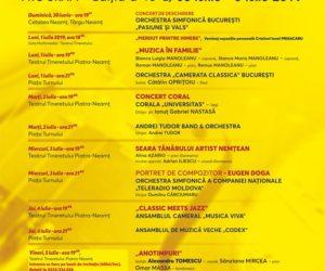 O nouă ediție a Vacanțelor Muzicale la Piatra Neamț
