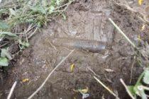 Proiectil neexplodat descoperit în comuna Văleni