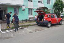 Intervenții ale pompierilor în municipiul Piatra Neamț, în această dimineață