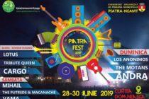 Ce artiști vin la Piatra Fest 2019. Programul evenimentului.
