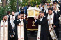 Procesiune cu Sfintele Moaște ale Sfântului Gheorghe Pelerinul