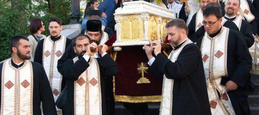 IPS Teofan va participa, miercuri, la procesiunea cu moaștele Sf. Gheorghe Pelerinul de la Piatra Neamț