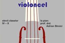 Recital de violoncel, la Biblioteca Județeană G. T. Kirileanu