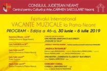 Duminică, 30 iunie, încep Vacanțele muzicale – conferință de presă