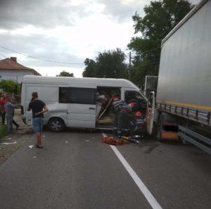 Accident 5 victime Grumazesti