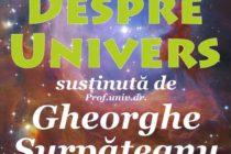 """Conferința """"Despre Univers"""", la Biblioteca Județeană Neamț"""
