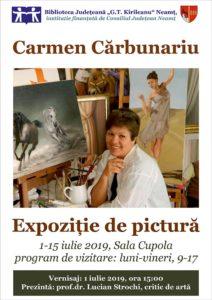 Expozitie Carmen Carbunariu
