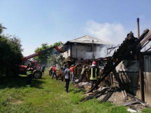 Incendiu intentionat Moldoveni 2