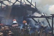 Incendiu la anexa unei locuințe din comuna Pângărați, sat Oanțu