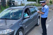 Peste 300 de amenzi și 50 de permise suspendate în urma acțiunii polițiștilor rutieri