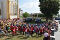 Jandarmii nemțeni alături de copiii din Adjudeni