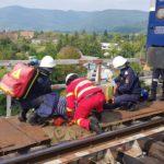 Accident feroviar pe un pod ISU Neamt (8)