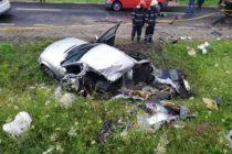 Accident rutier cu 2 victime în comuna Tașca