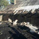 Incendiu baloti de paie 3 gospodării Brolesti (1)