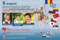 """Spectacol de închidere al Festivalului Internațional de Folclor """"Ceahlăul"""""""
