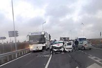 Accident rutier grav cu 2 victime în municipiul Roman, pe E85