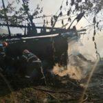 Incendiu 3 locuințe Gârcina (1)