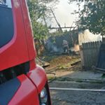 Incendiu 3 locuințe Gârcina (2)