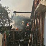 Incendiu 3 locuințe Gârcina (3)