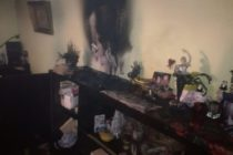 Incendiu la un apartament din Piatra Neamț provocat de o candelă