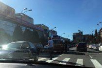 Accident rutier cu 2 victime în centrul municipiului Piatra Neamț