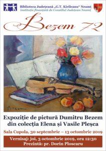 Expozitie Bezem 72, septembrie 2019