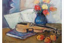"""""""Bezem 72"""", expoziție de pictură la Biblioteca Județeană"""