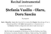 Un nou recital instrumental în stagiunea artistică 2019-2020