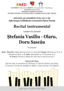 Afis Recital instrumental